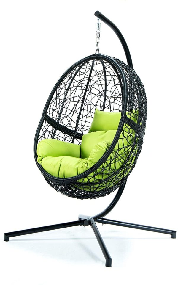 Outdoor Patio Lounge Swing Chair Green